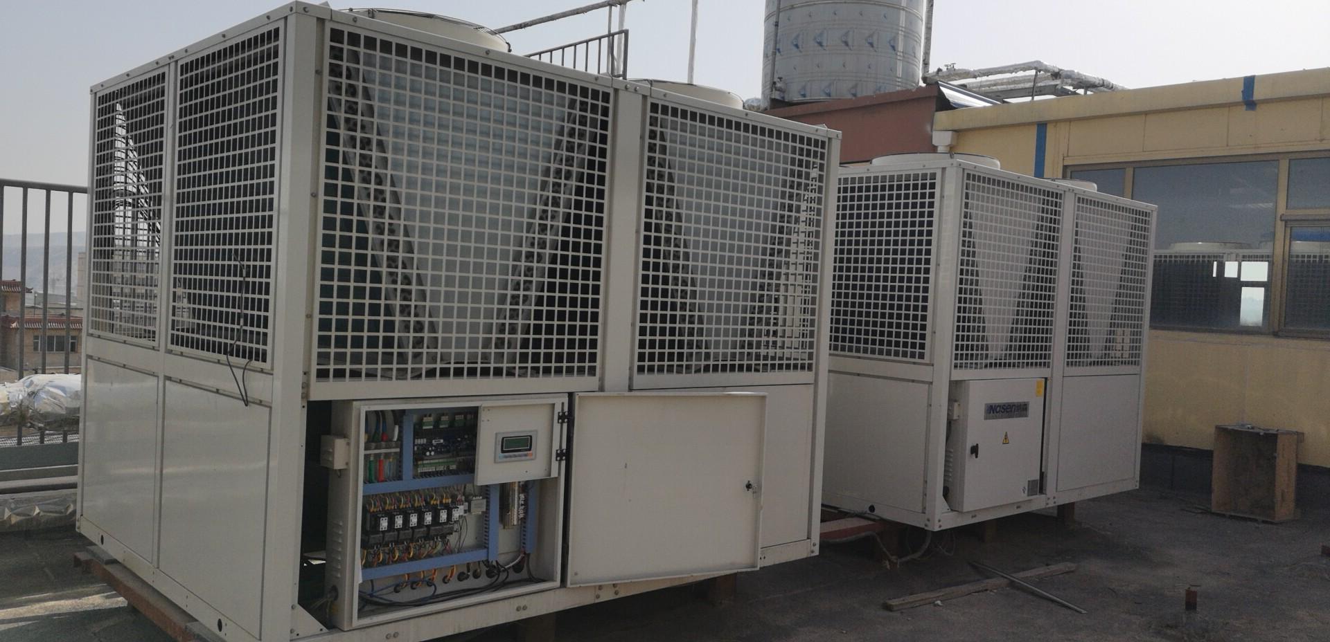 清洁能源(空气源热泵机组)